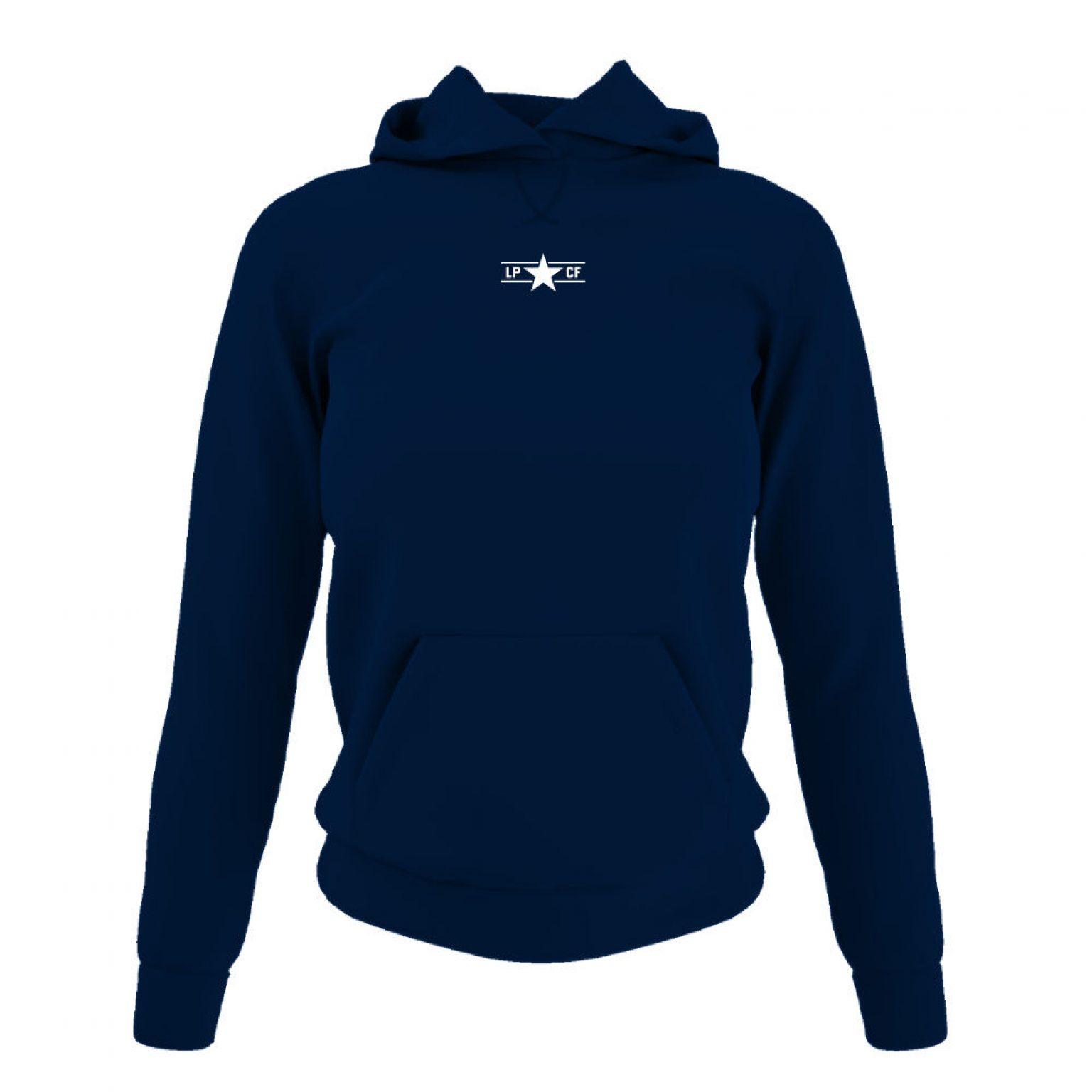 LPcircle hoodie damen navy front