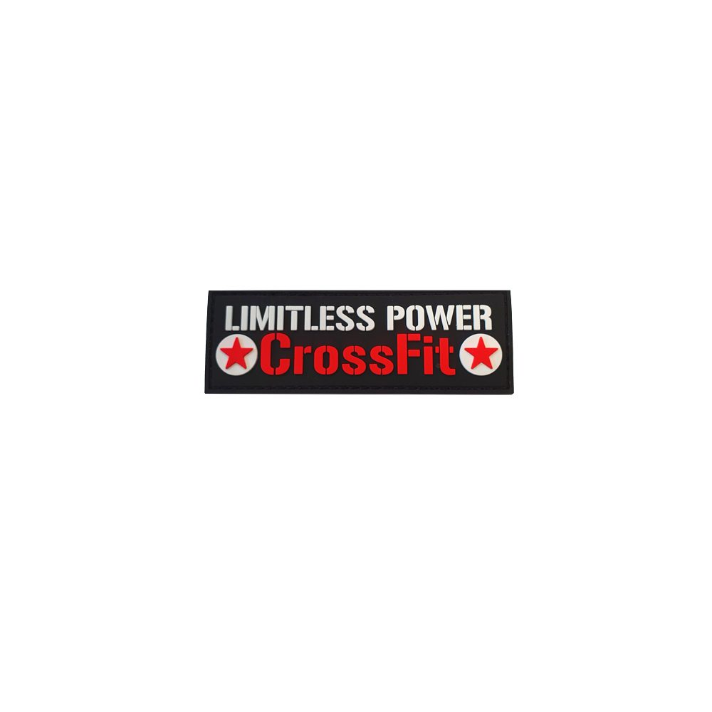 LimitlessPowerCrossFit PVC Patch