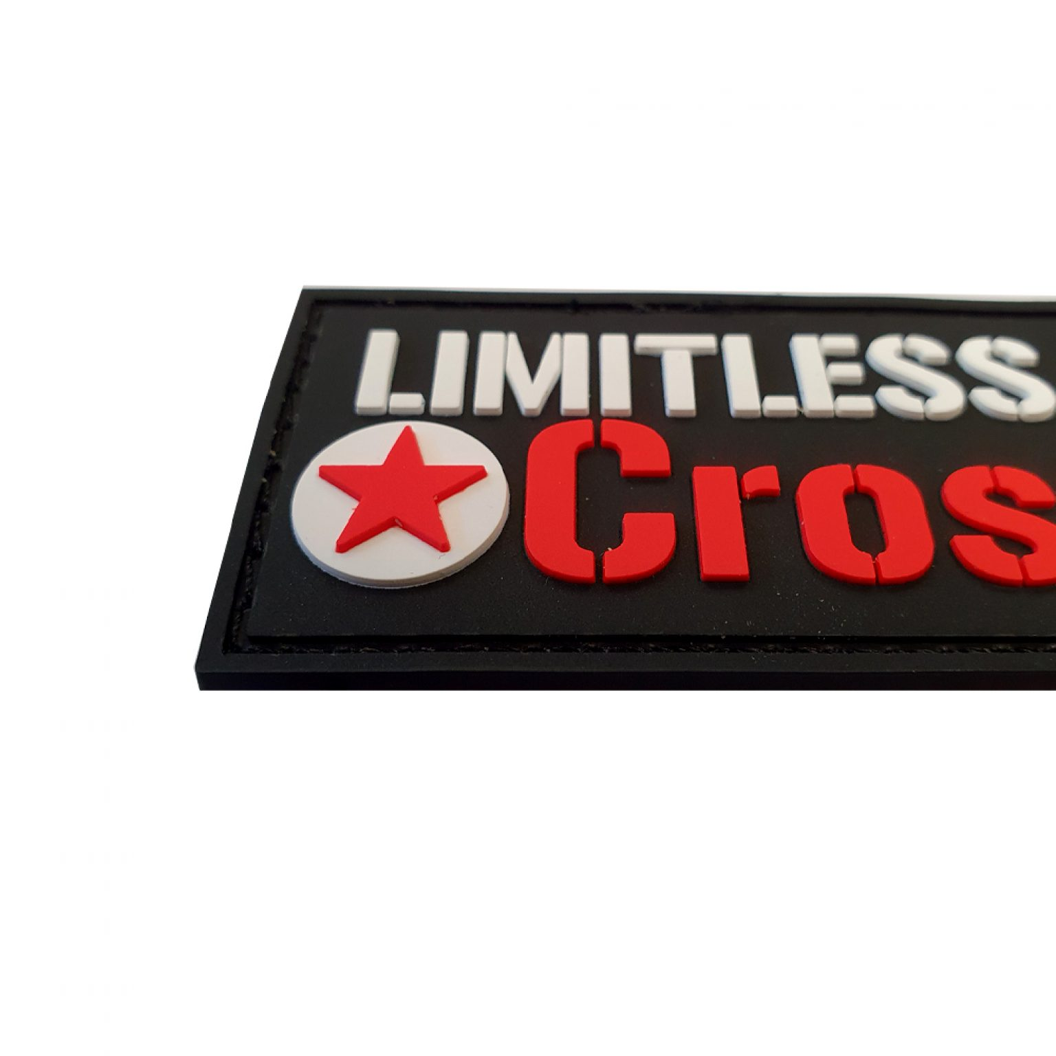 LimitlessPowerCrossFit PVC Patch2