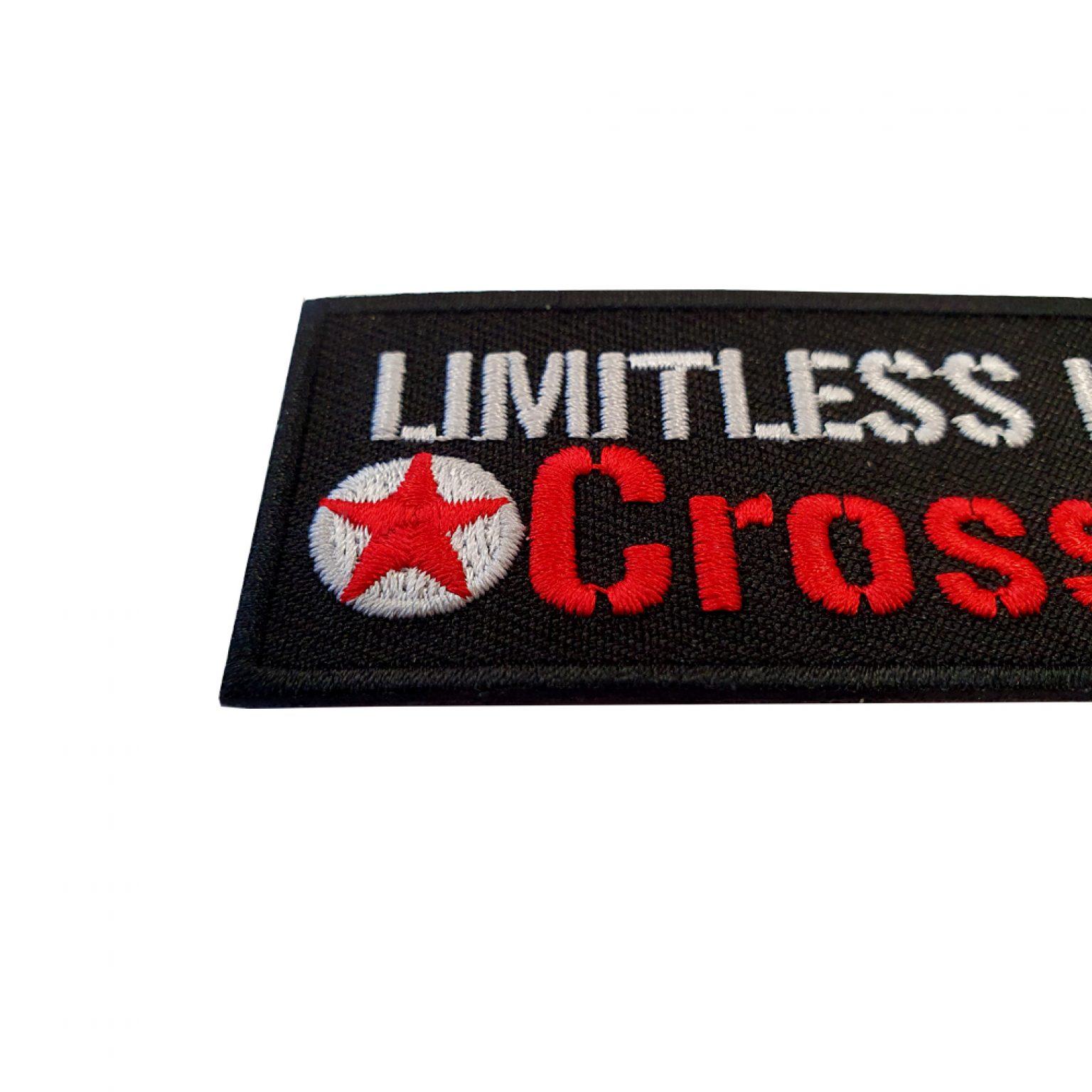 LimitlessPowerCrossFit Stick Patch2