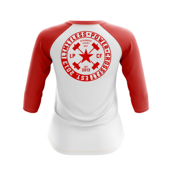 Longsleeve LPcircle women whitered back